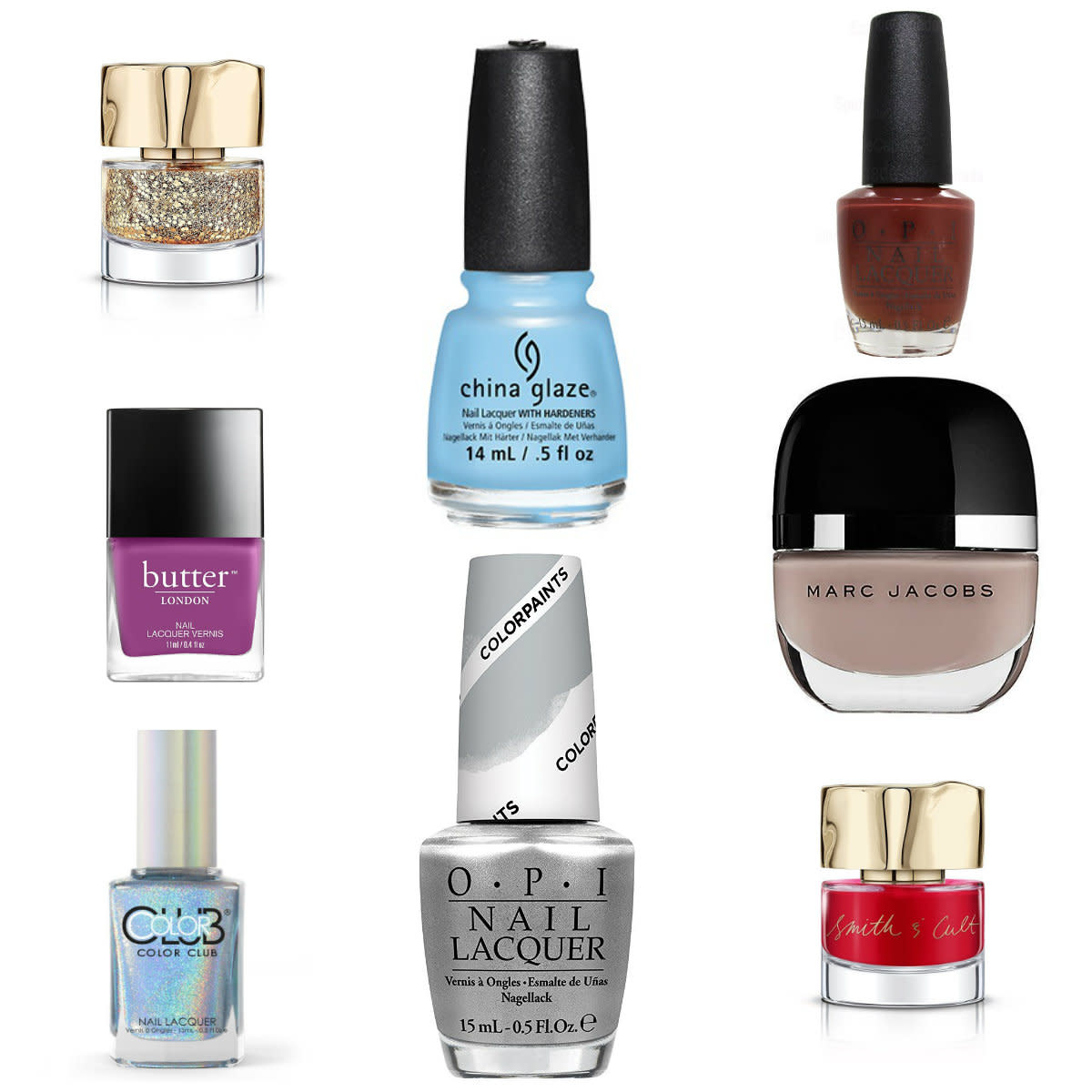 Top 10 Nail Polish Colors for Winter 2016-2017
