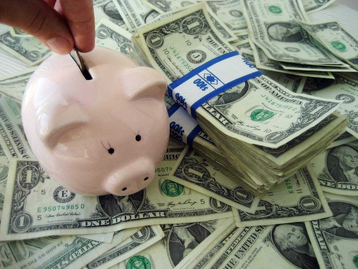 Put a little money into savings each week, even if it is only a dollar or two.