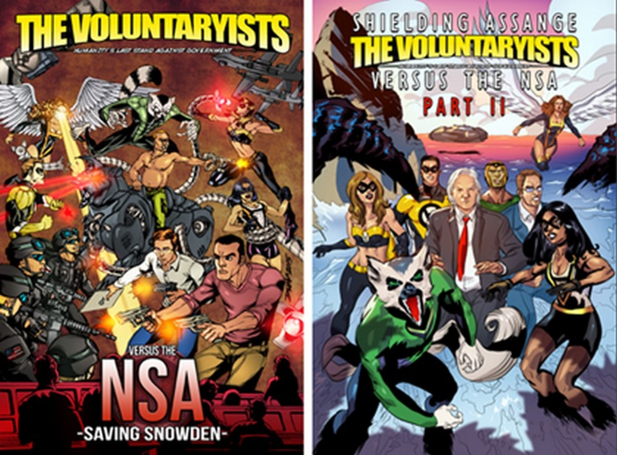 Making Libertarianism Fun: The World of Comics and Graphic Novels
