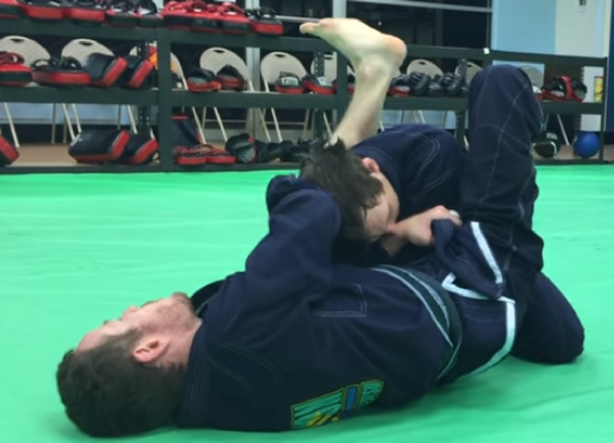 How to Use the Lapel to Set Up an Armbar From Guard in Brazilian Jiu-Jitsu