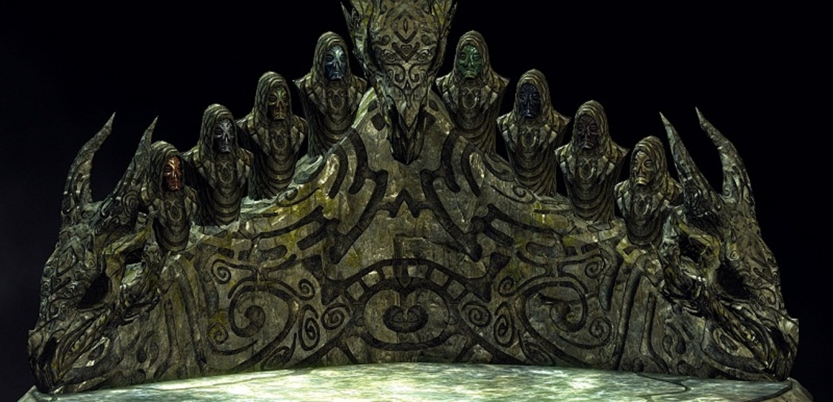 Finding the 10 Dragon Priest Masks of Skyrim
