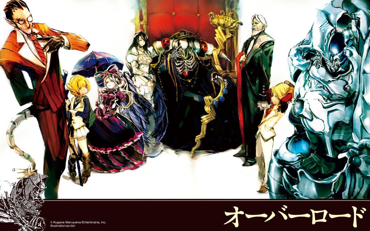 10 Manga Like Overlord
