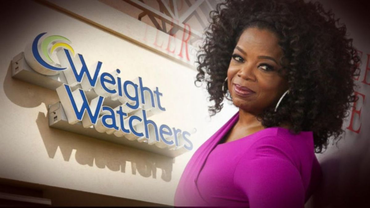 Oprah Winfrey, the Latest Weight Watchers Celebrity