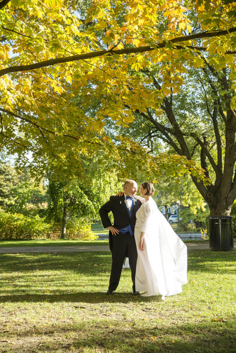 At-home weddings can be as elegant as any wedding at the fraction of the cost.