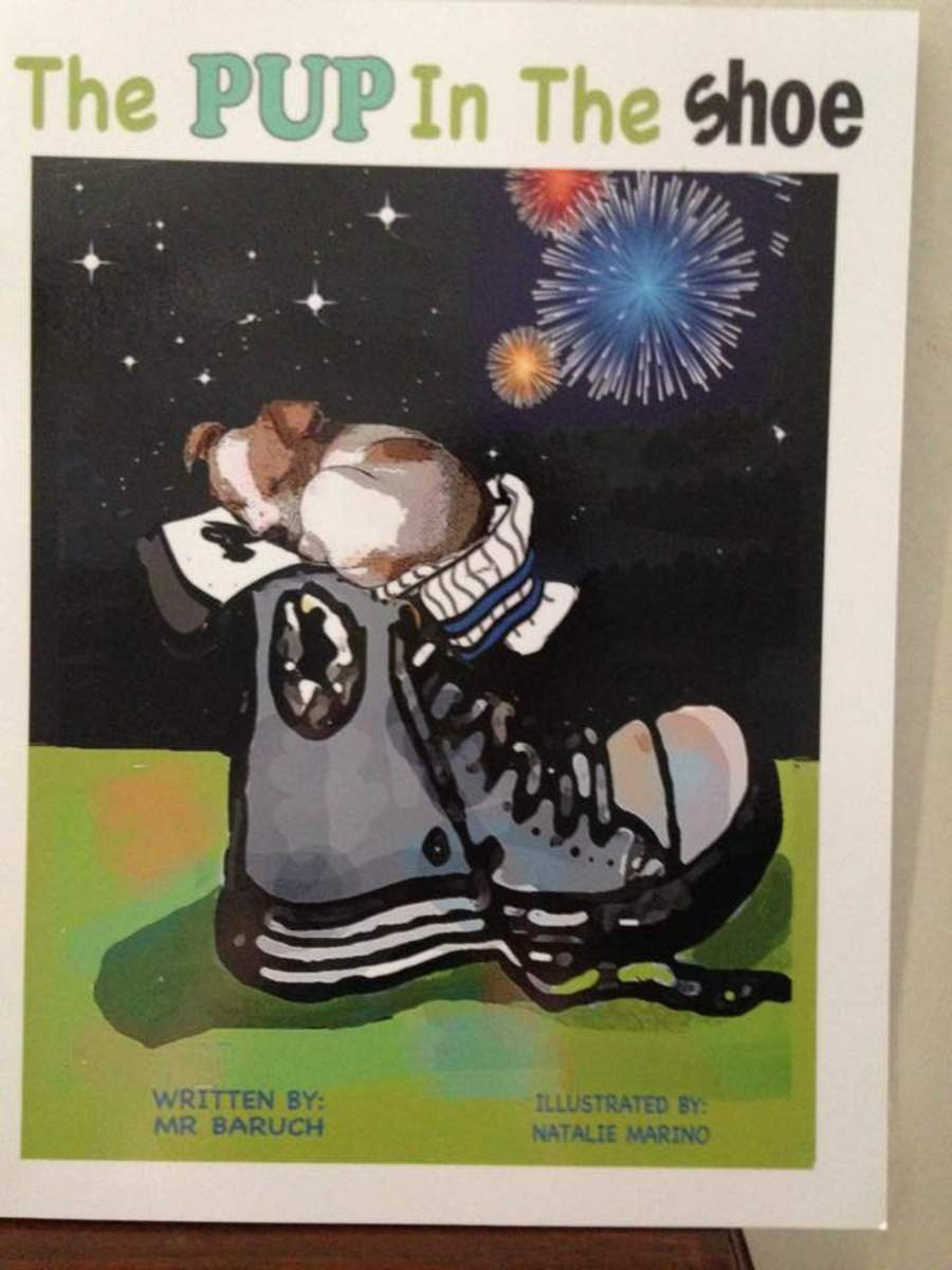 """""""Pup in the Shoe"""": Life Lessons of Unconditional Love and Family Loyalty in Colorful Picture Book for Young Children"""
