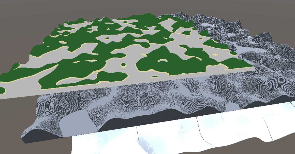 Displaying in the geometry shader, triangle meshes, and Unity Terrain.