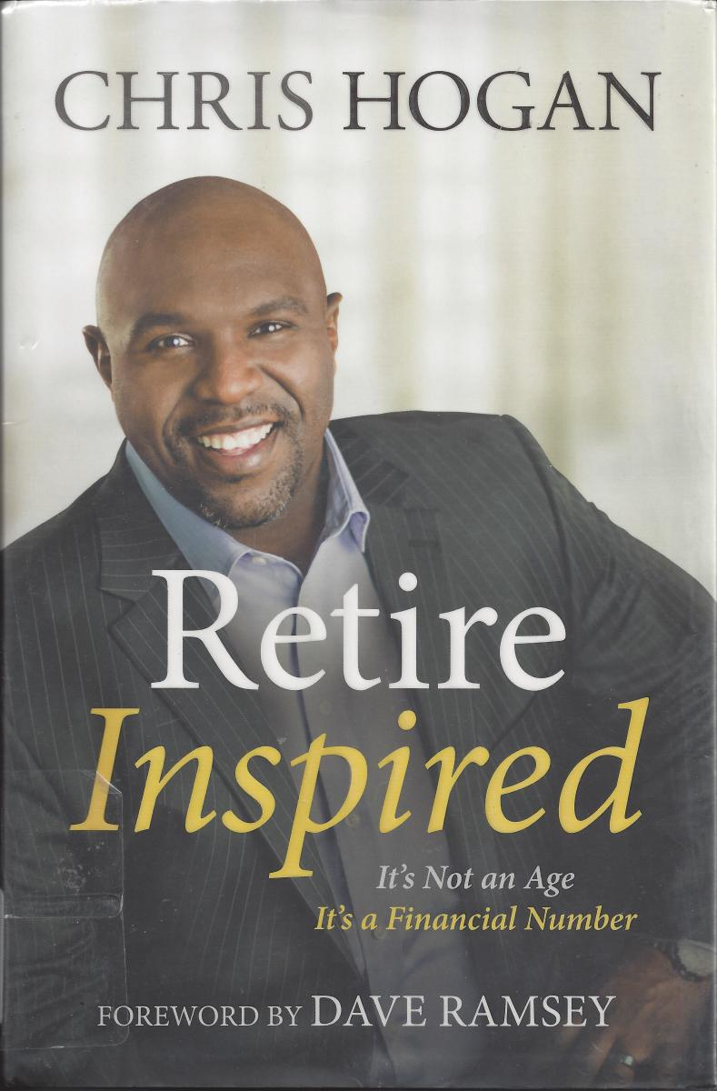 "The Cover of ""Retire Inspired"" by Chris Hogan"