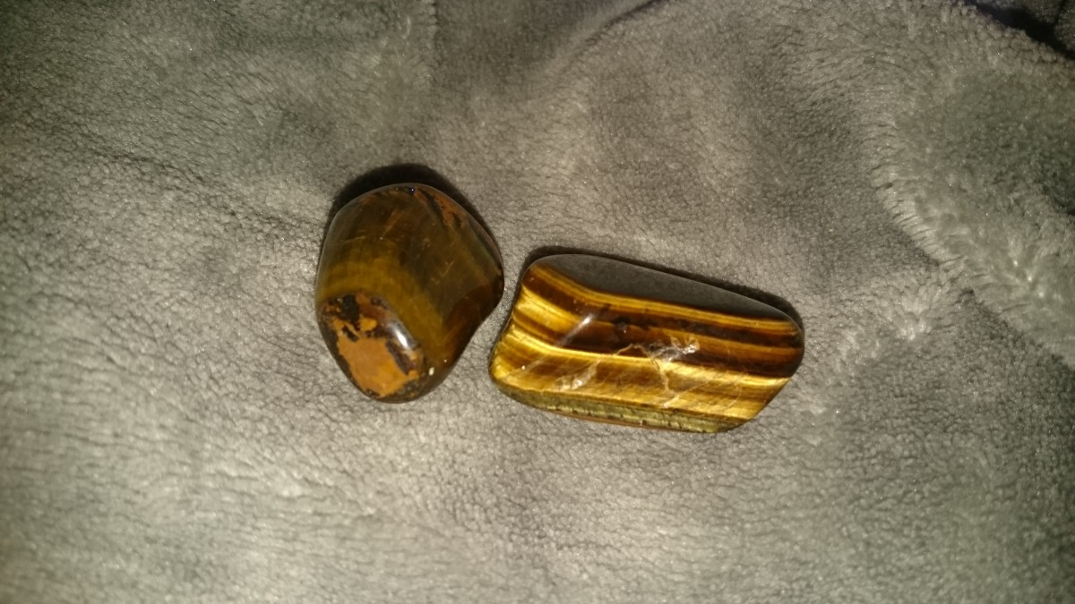 Tiger's eye can help us see our talents.
