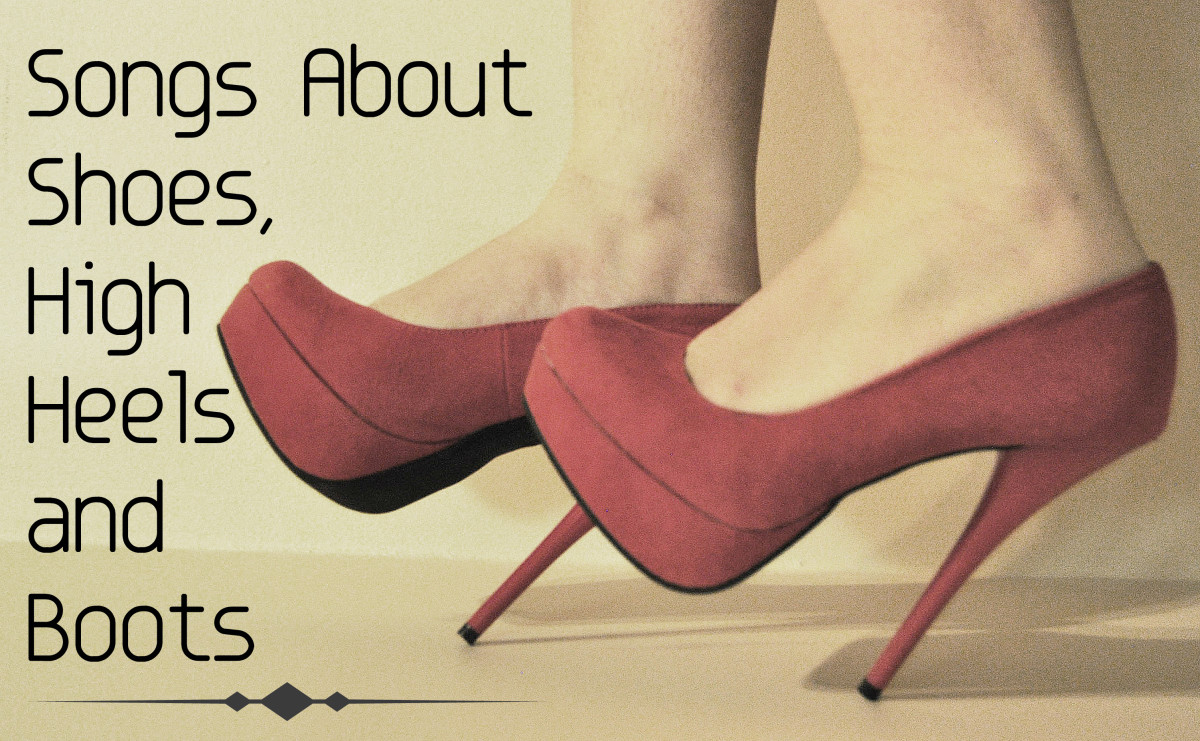 61 Songs About Shoes, High Heels, and Boots