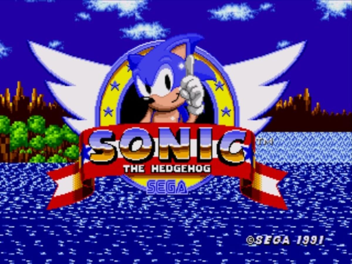 """The original """"Sonic the Hedgehog."""""""