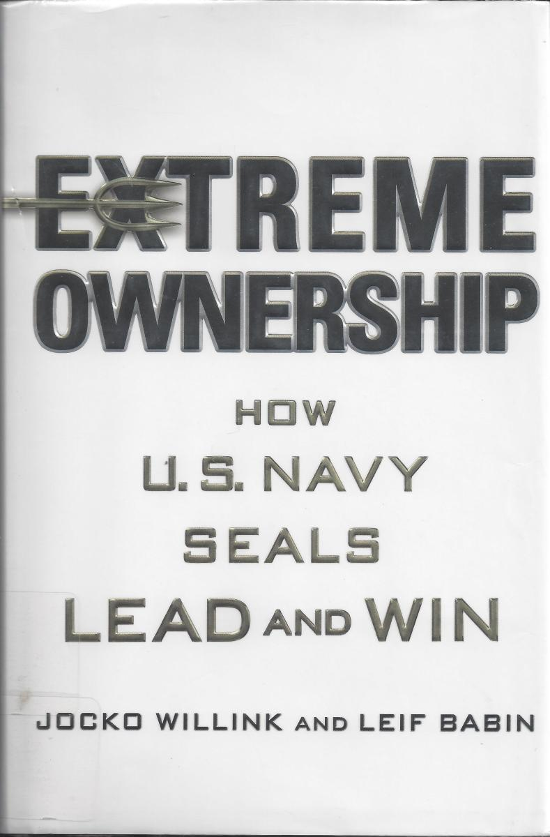 "The Cover of ""Extreme Ownership"""