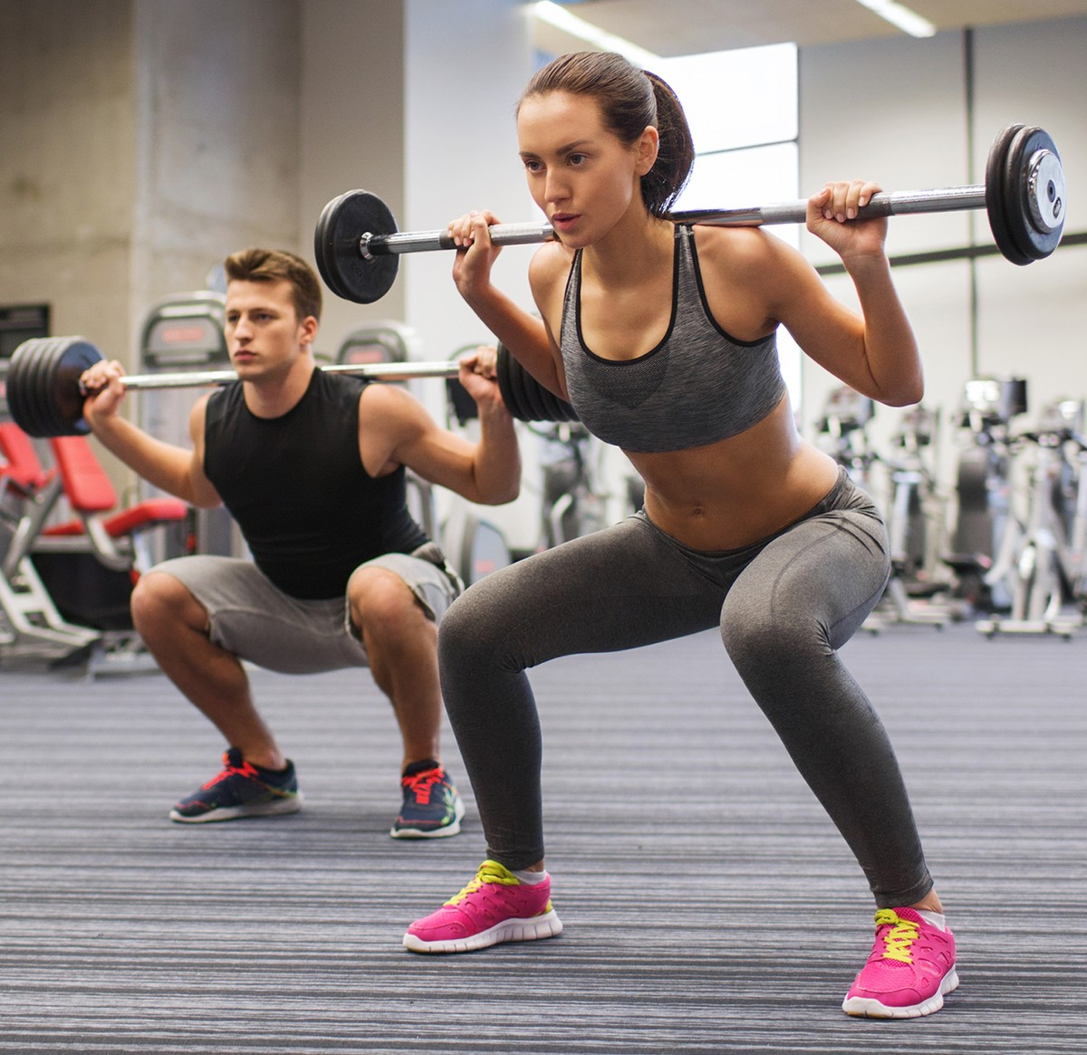 "Men and women alike have turned to strength training as a way of ""getting lean"" by reducing excess body fat while building muscle tissue."