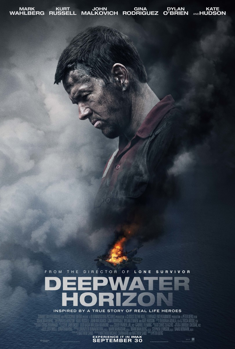 "The final one-sheet theatrical poster for ""Deepwater Horizon."""