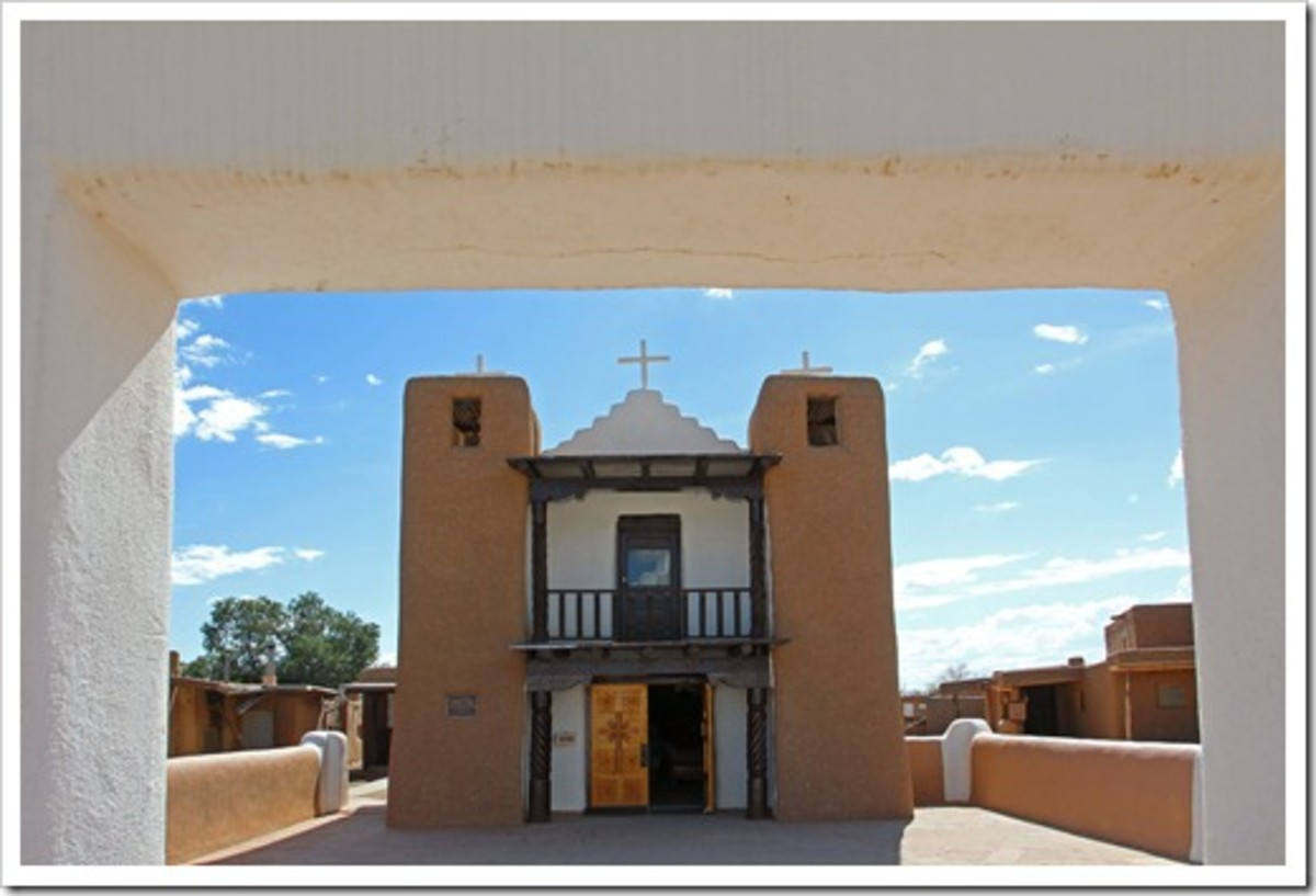 San Geronimo Church on Taos Pueblo.