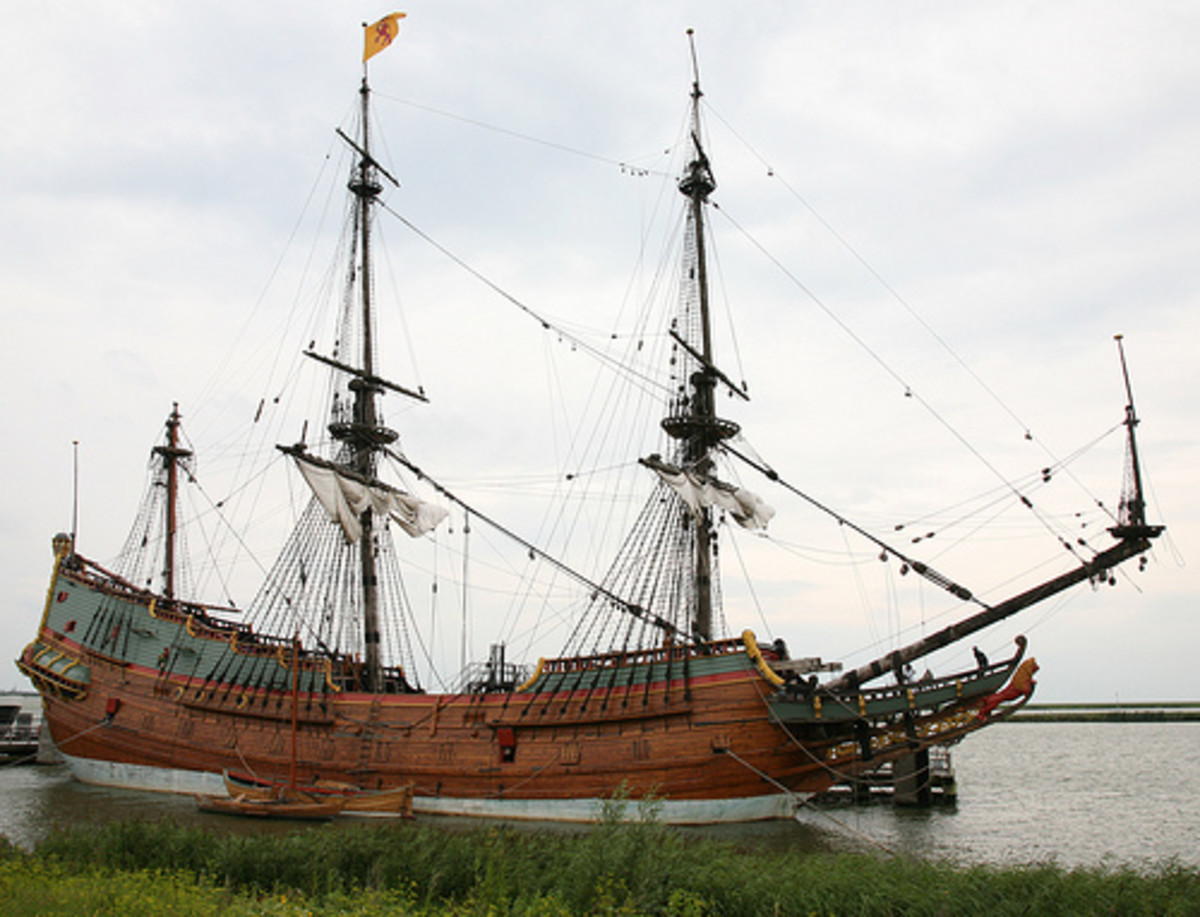 Replica of the Batavia.