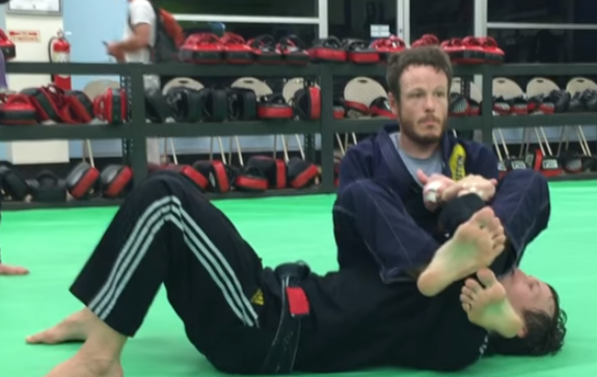 How to Break Grips on an Armbar Defense in BJJ