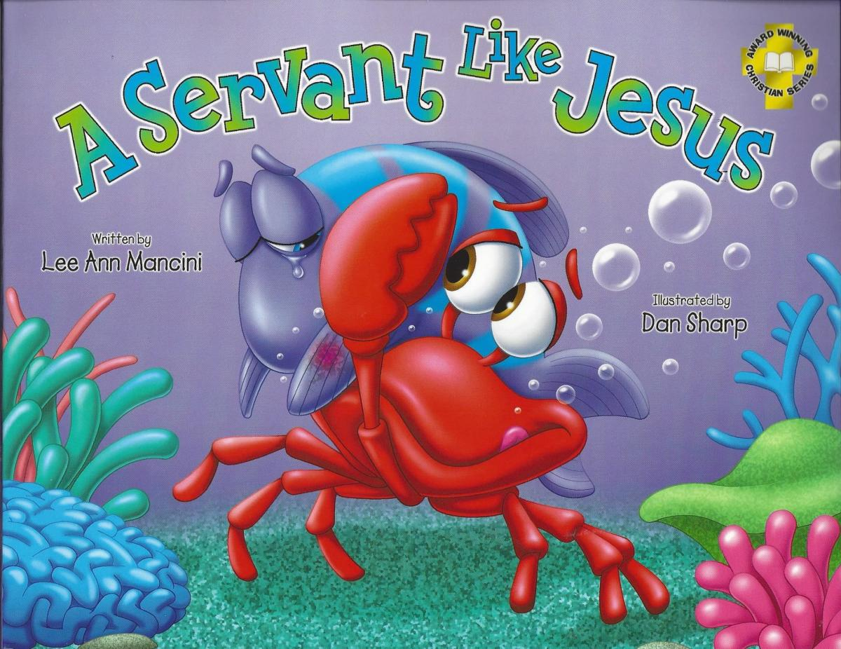 """The cover for the book """"A Servant Like Jesus"""""""