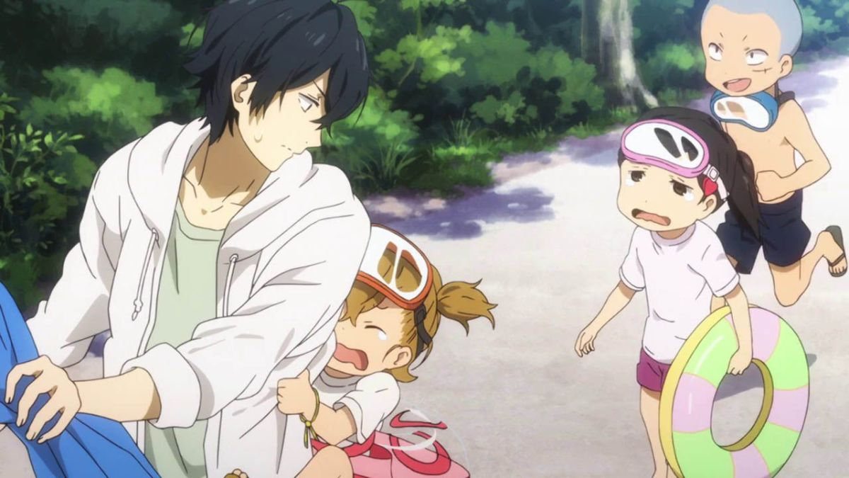 Barakamon follows Handa-kun's life in the countryside.