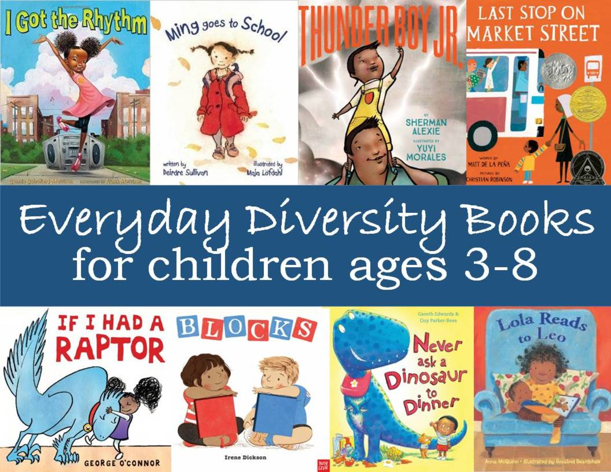 Everyday Diversity Books for Children Ages 3-8