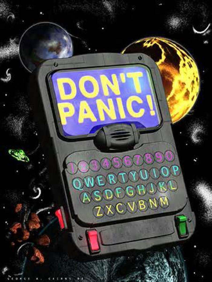 """Review of """"The Ultimate Hitchhiker's Guide to the Galaxy"""""""