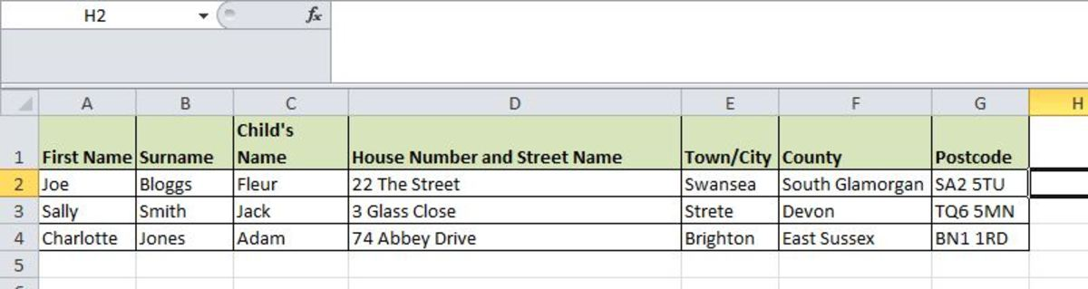 How to Write Letters Using Mail Merge and an Excel Spreadsheet
