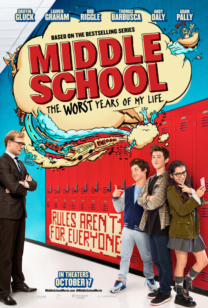 Middle School: The Worst Years of My Life - Movie Review