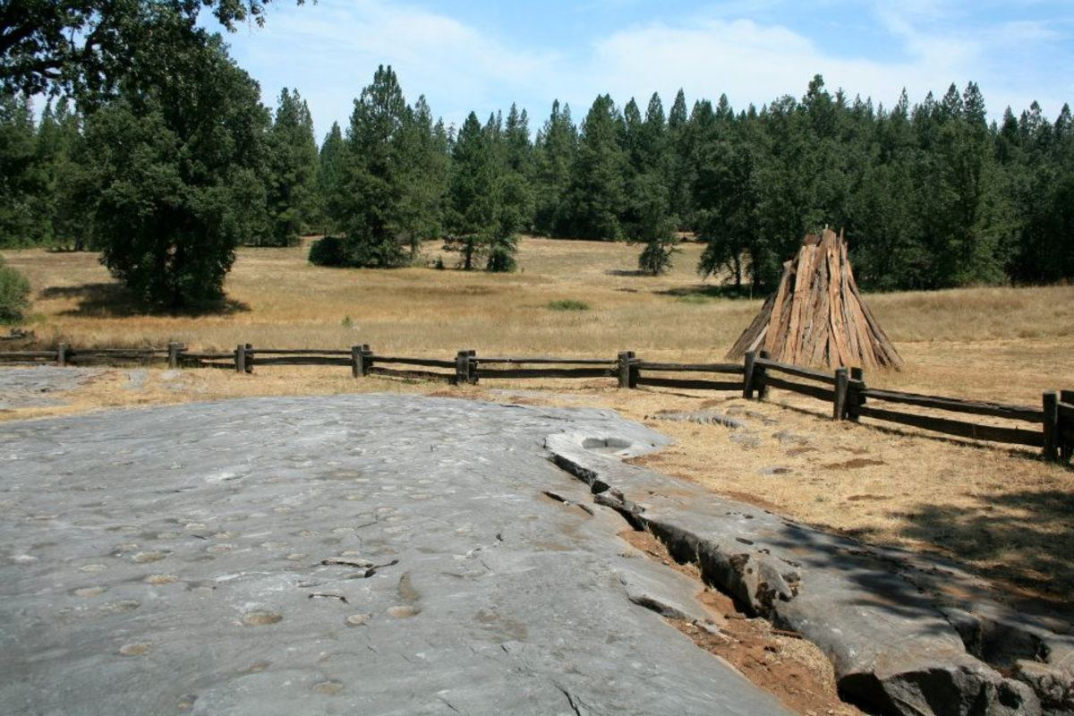 Indian Grinding Rock State Historic Park is nestled in the Sierra Nevada foothills near Jackson, California. Created in 1968, it is home to the Chaw'se Regional Indian Museum, several hiking trails and a number of archaeological sites.