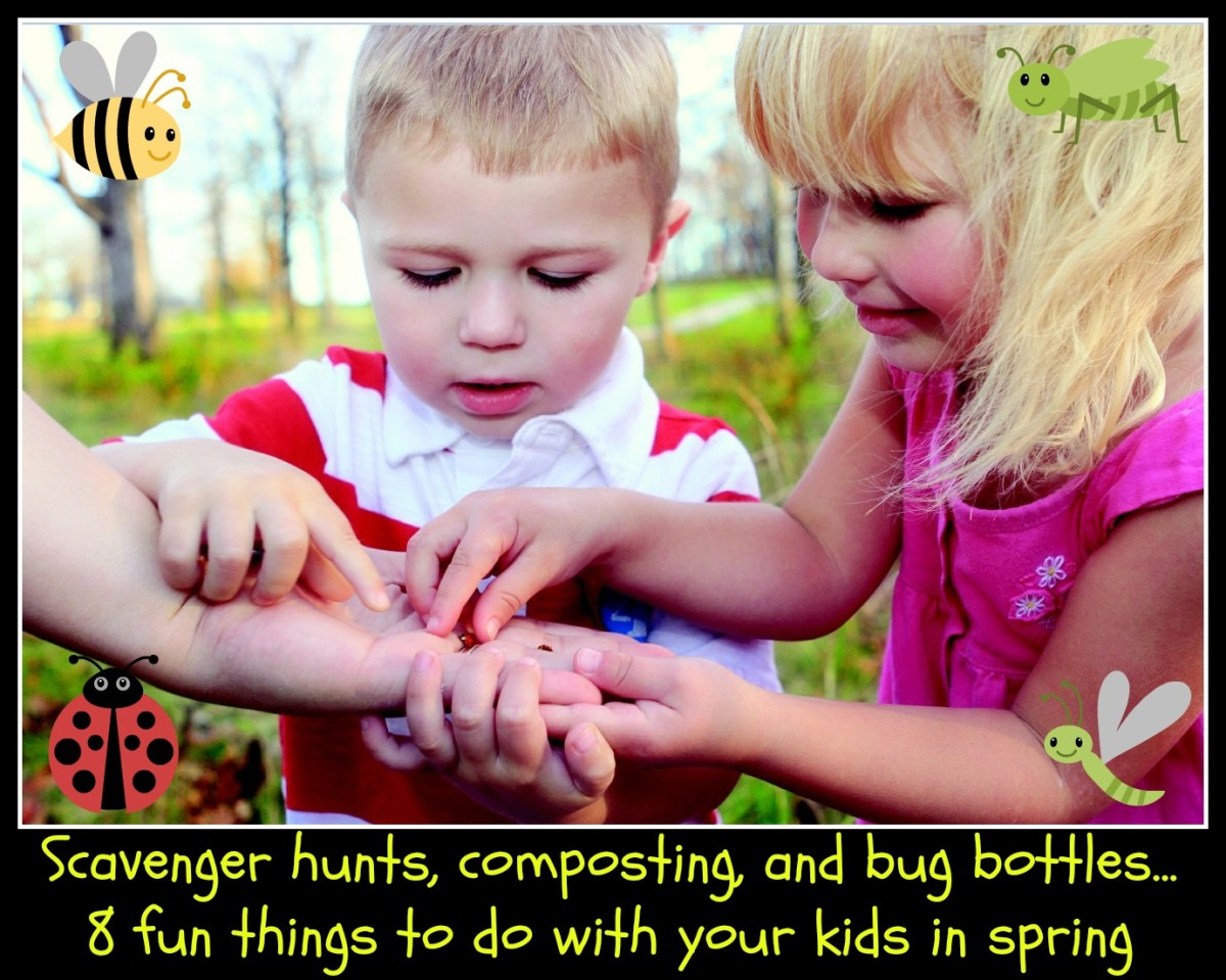 There are many fun things to do with your kids in spring that are inexpensive and get them outdoors