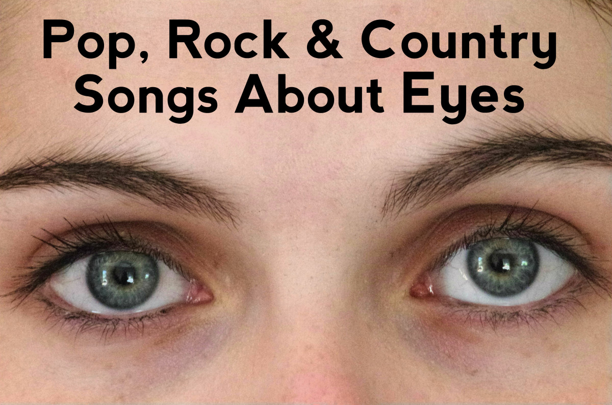 Celebrate eyes as the window to the soul with this playlist of songs.  We have a long list of pop, rock and country eye tunes to help you out.