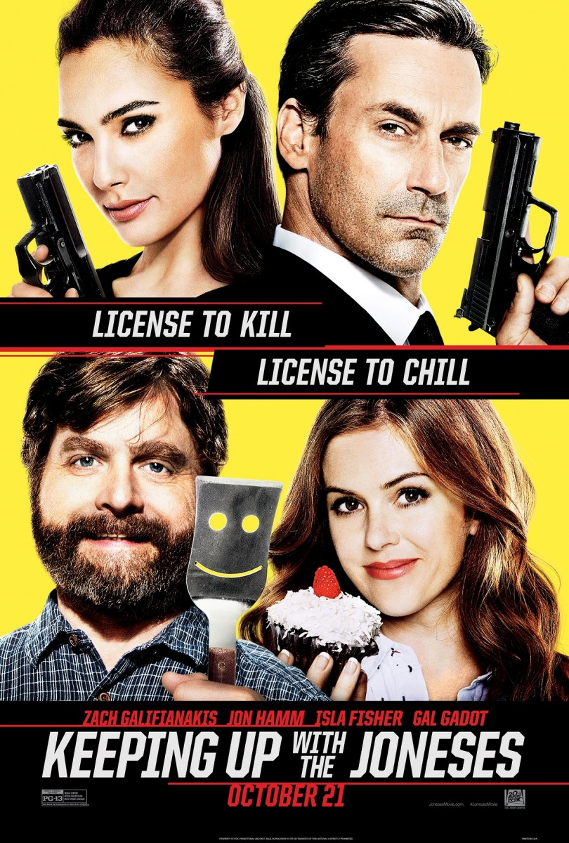 Keeping Up with the Joneses (2016) review