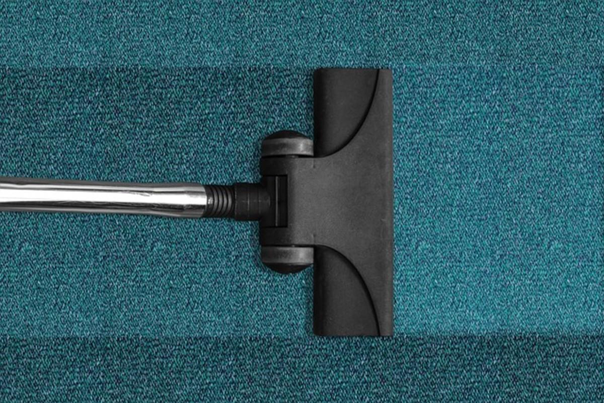 Vacuum that rug!