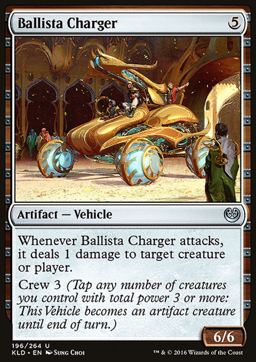 MtG Magic the Gathering Kaladesh Vehicle Deck