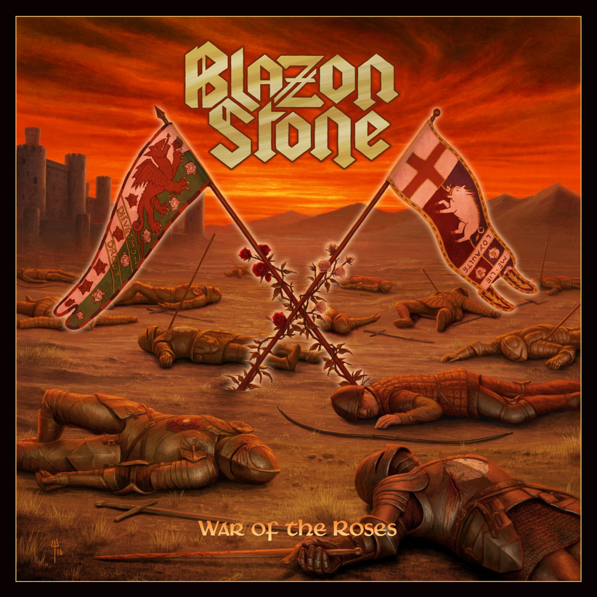 "Blazon Stone, ""War of the Roses"" (2016) Album Review"