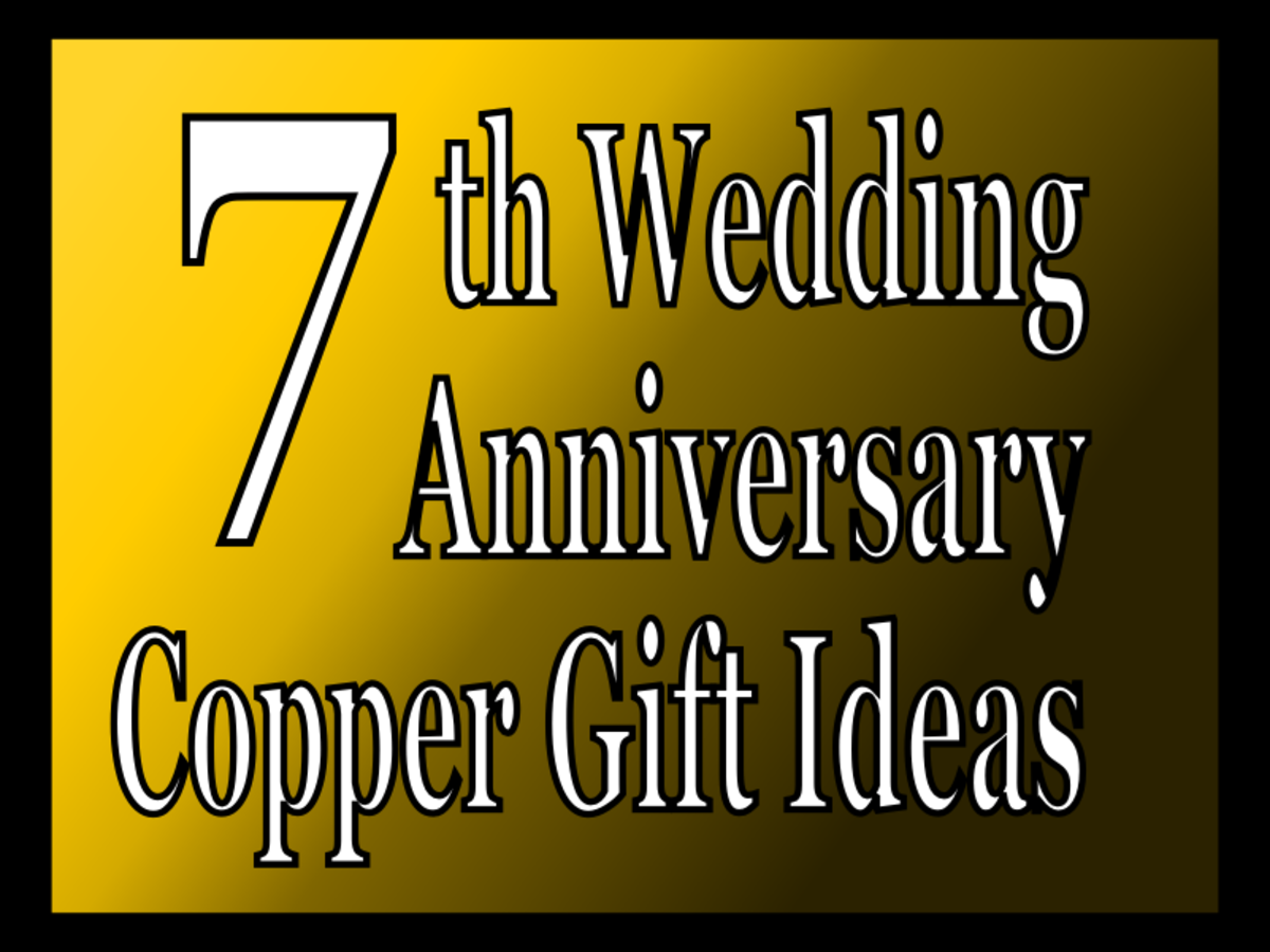 7th Wedding Anniversary Copper Gift Ideas