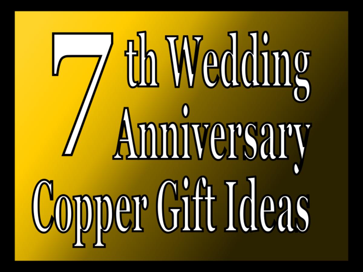 5 Best 7th Wedding Anniversary Copper