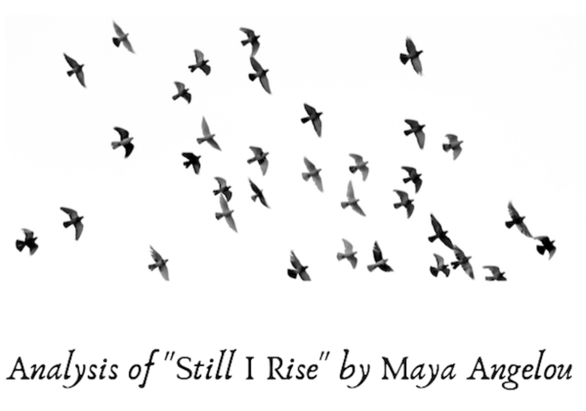 "Analysis of the Poem ""Still I Rise"" by Maya Angelou"
