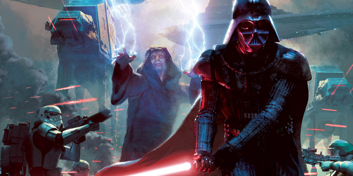 Emperor Palpatine and Darth Vader
