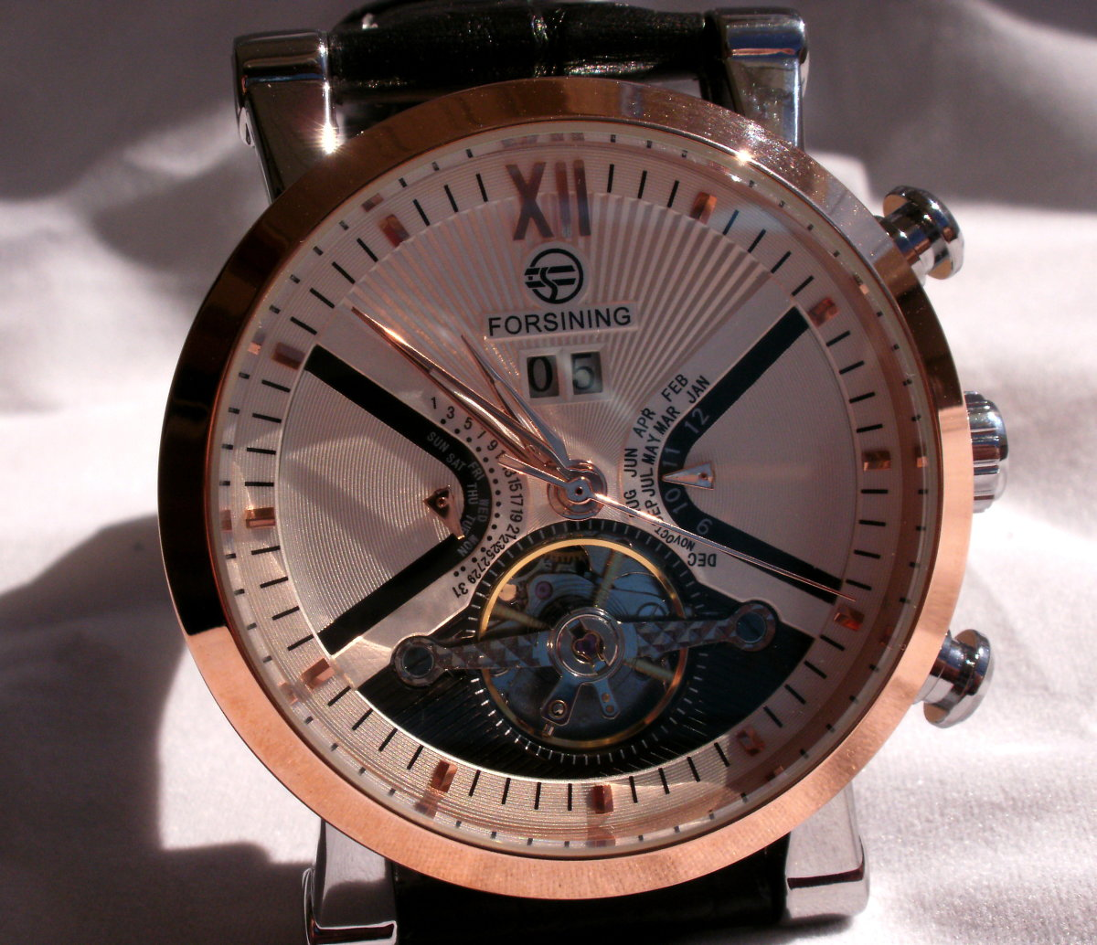 Review of the Forsining Men's Toubillon Automatic Mechanical Watch
