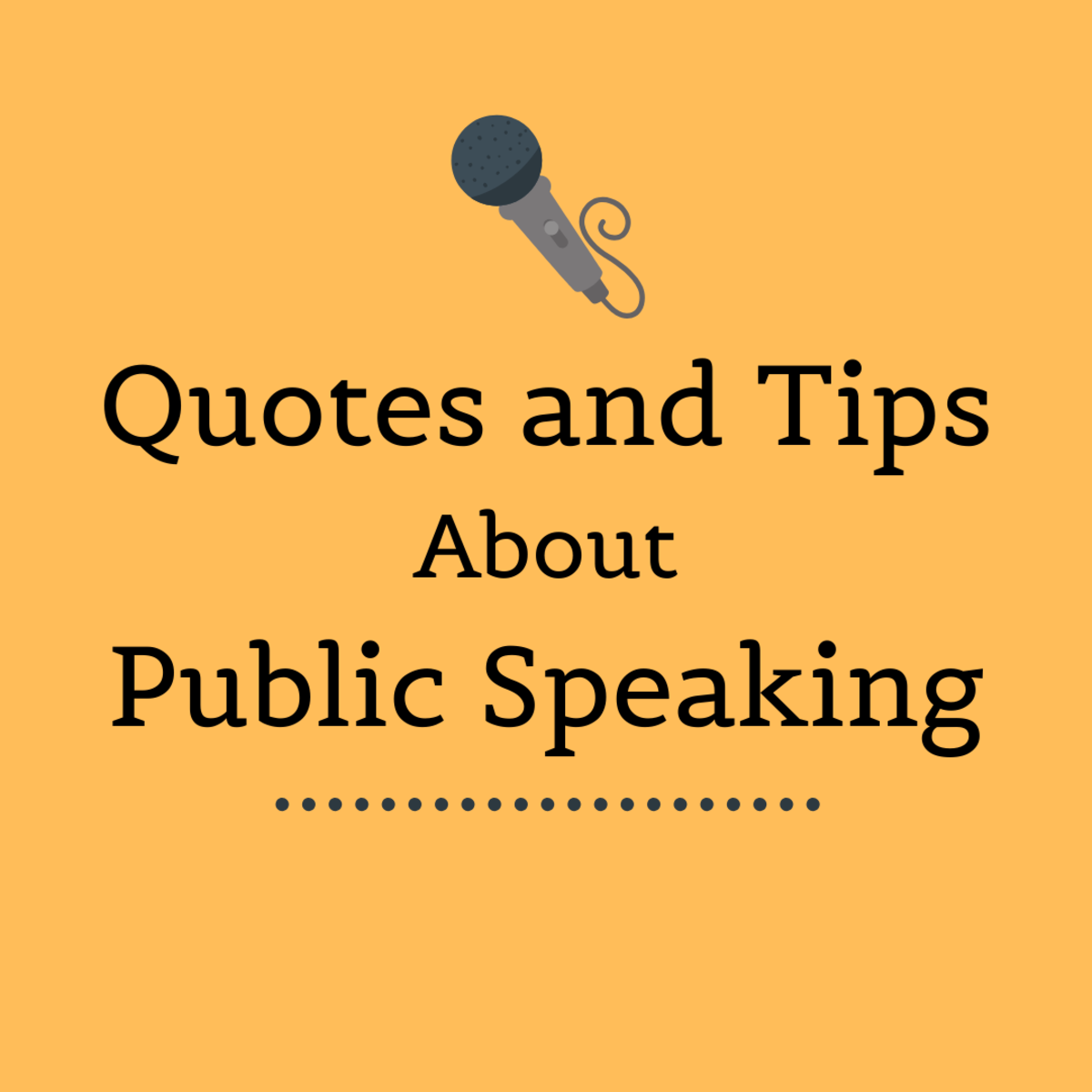 Read some inspirational quotes on public speaking, and get advice on becoming a better and more confident speaker.