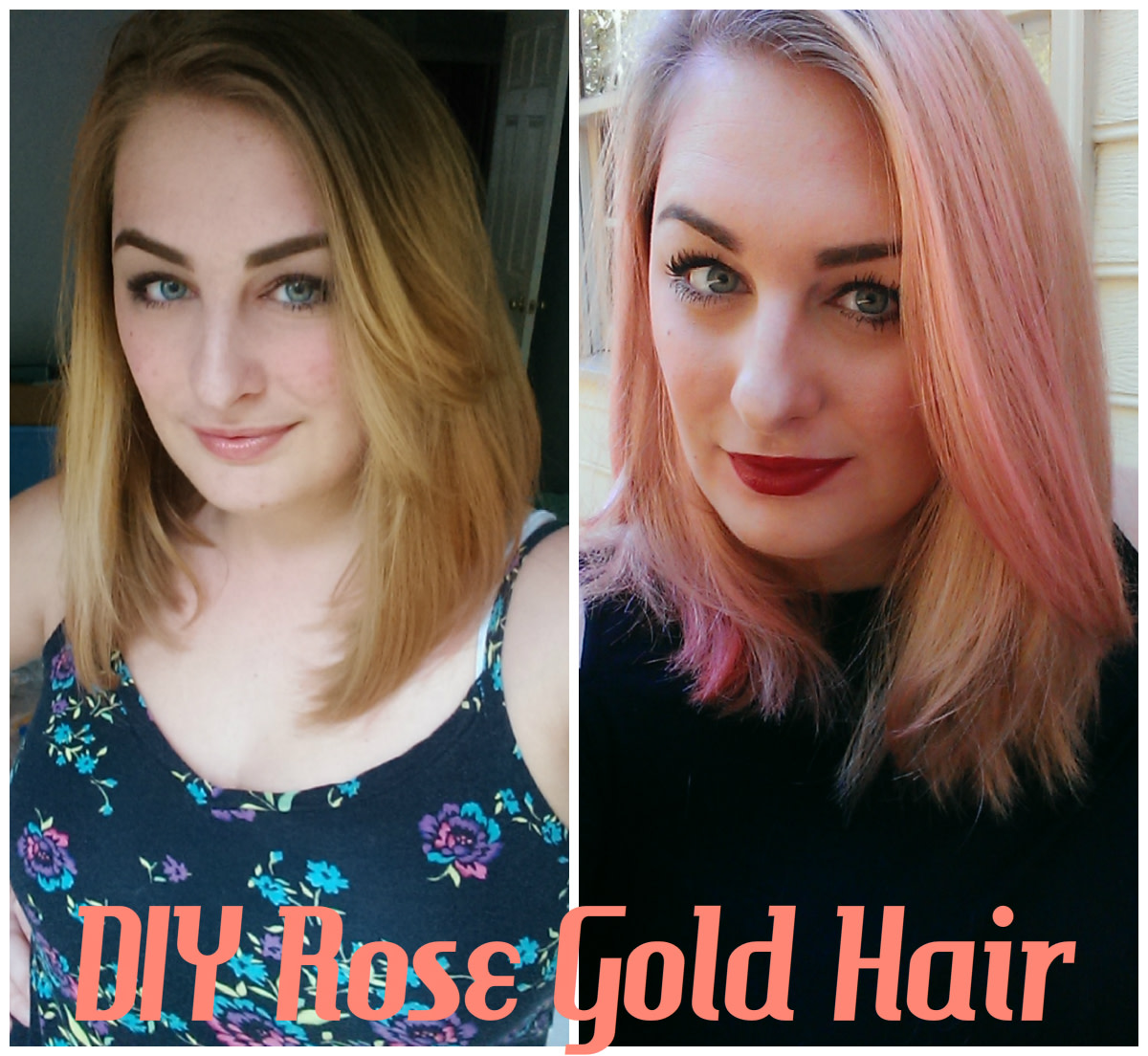 Hair DIY: How to Get Rose Gold Hair at Home