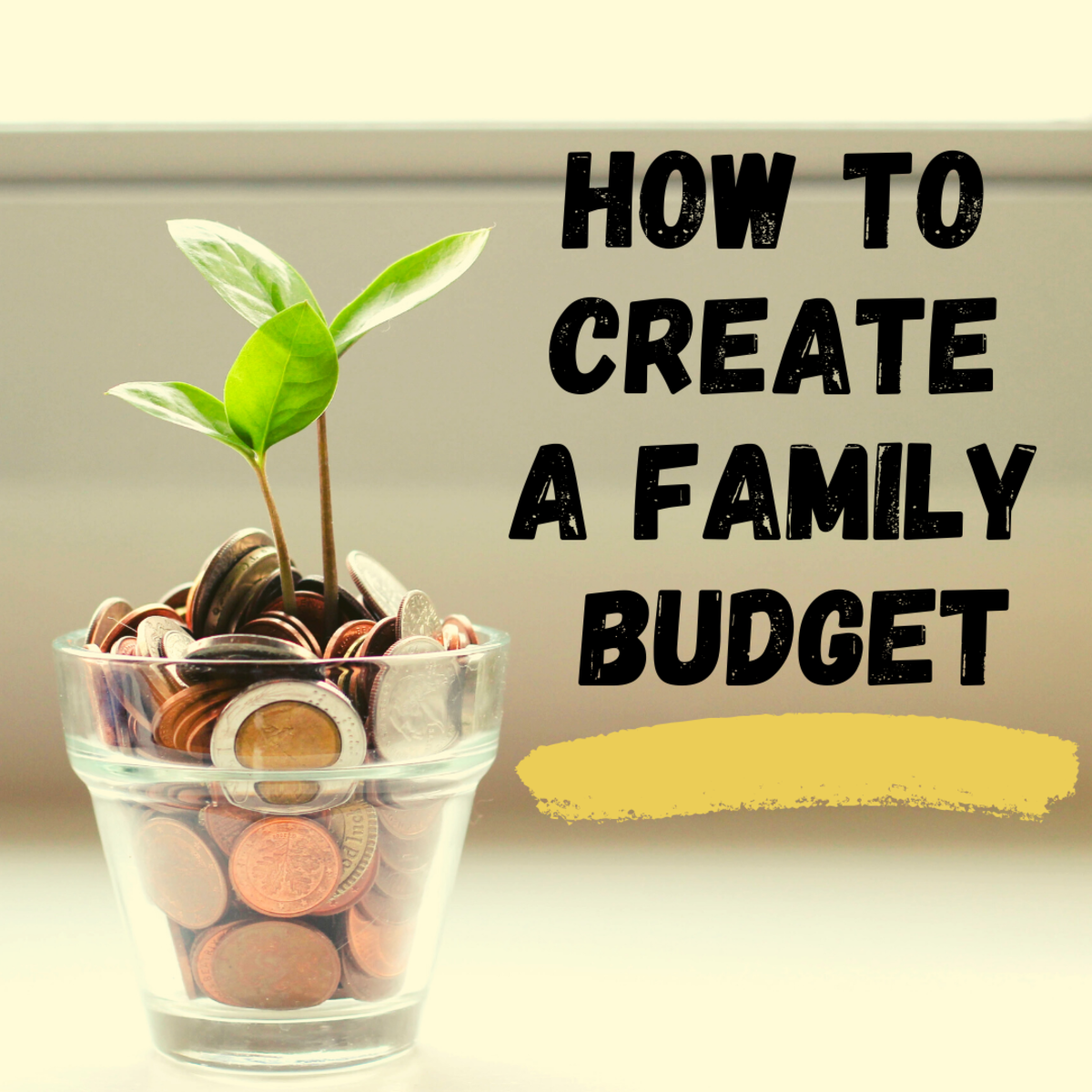 How to Create a Family Budget and Save More!