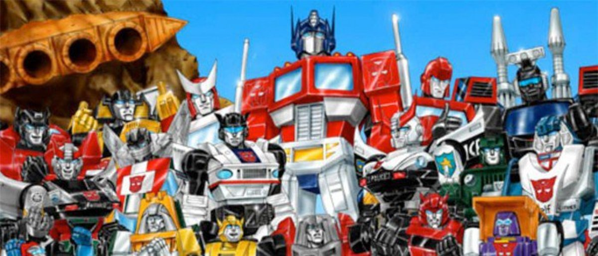 Geektoons : The Transformers