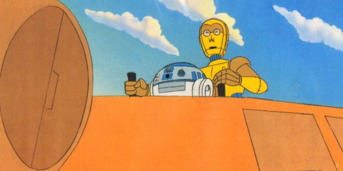 Geektoons : Star Wars Droids and Ewoks