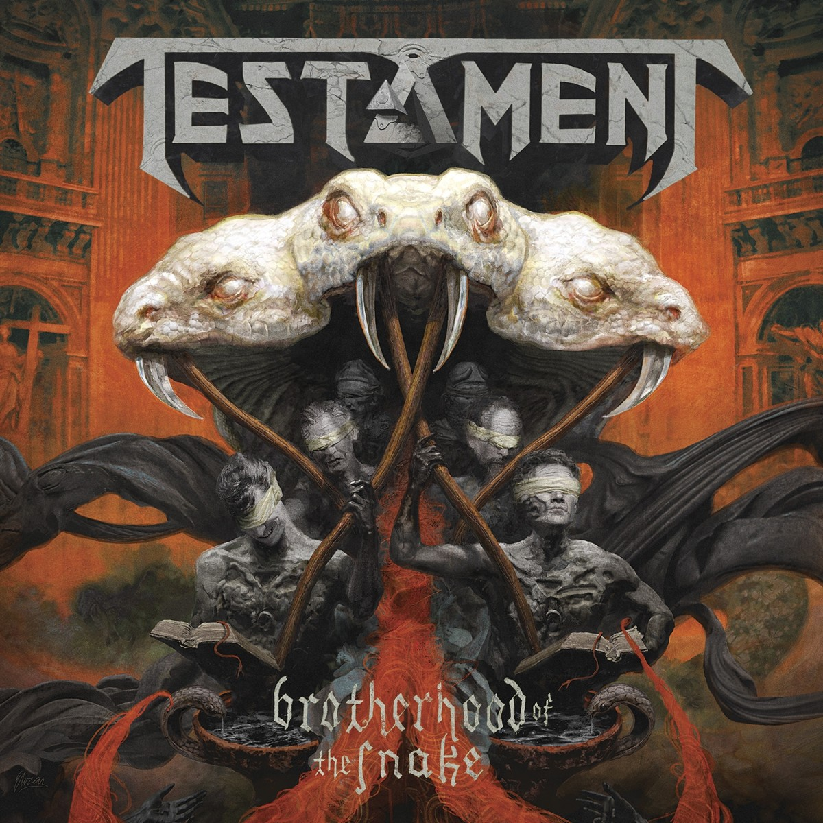 Album Review: Testament 'Brotherhood of the Snake'