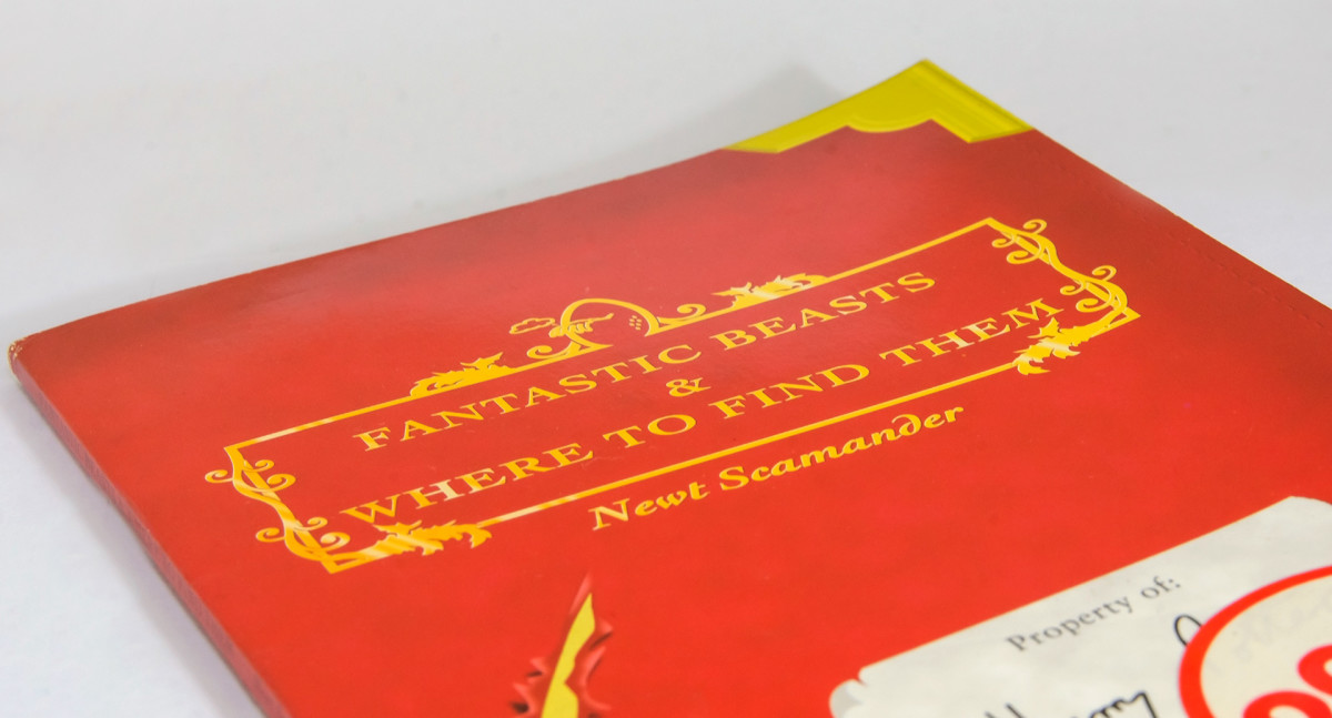 My aged copy of Fantastic Beasts and Where to Find Them. A must read for any aspiring wizards!