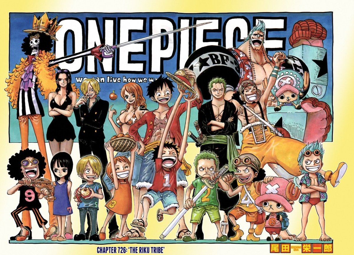 10 Manga Like One Piece
