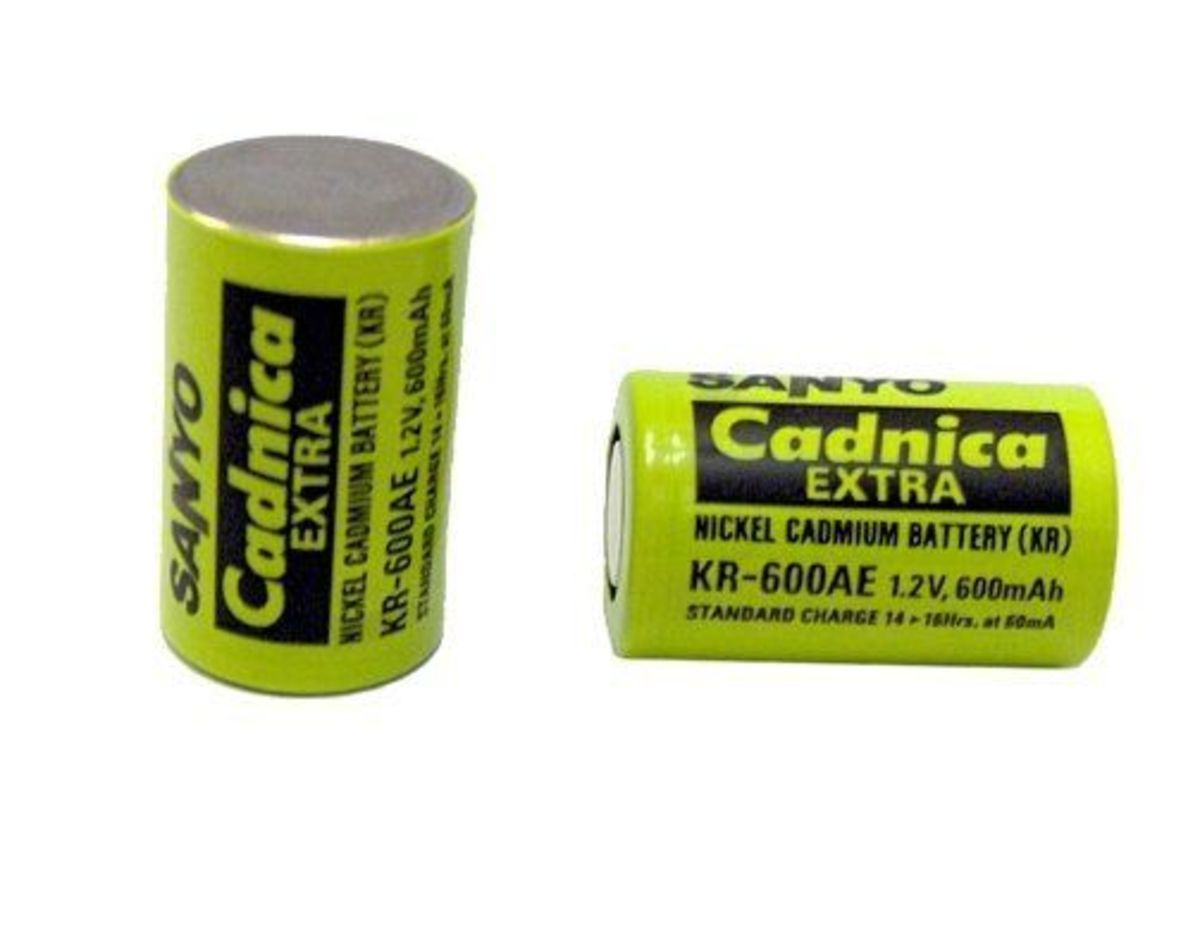 Nickel Cadmium is an old battery type that has been replaced by newer technologies over the years.