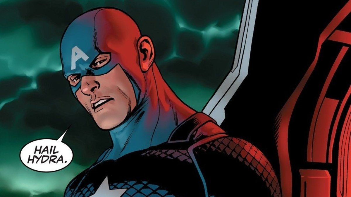 Why Captain America Should Not, Has Not, Cannot, and Will Never Be Part of Hydra