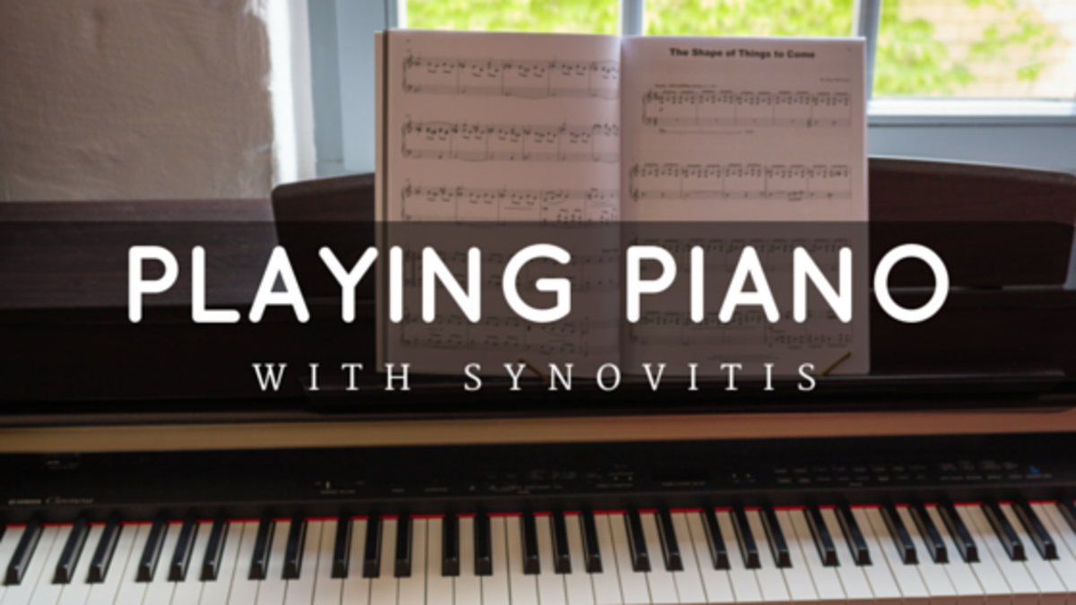 Playing Piano with Wrist Pain