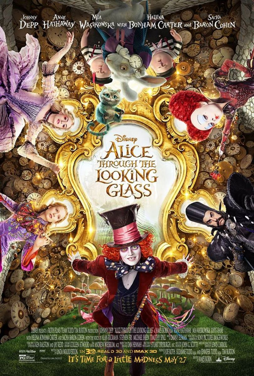Alice Through the Looking Glass: Movie Review